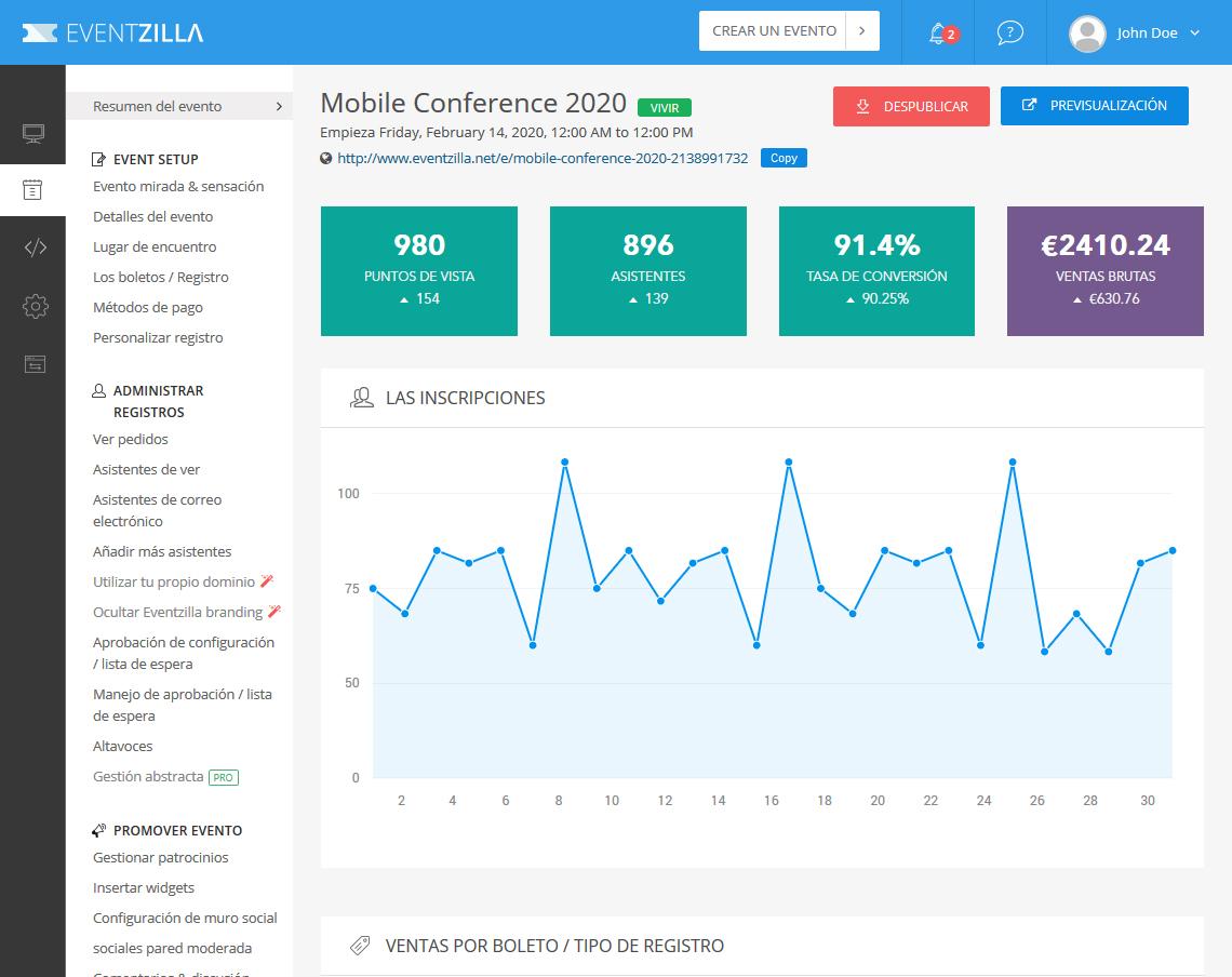 Complete Online Event Registration & Management | Eventzilla