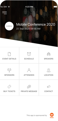 A Mobile Event App that your Attendees will love